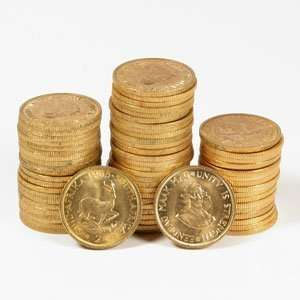 South Africa 2 Rand Gold Coins (AU/BU) AGW .2354