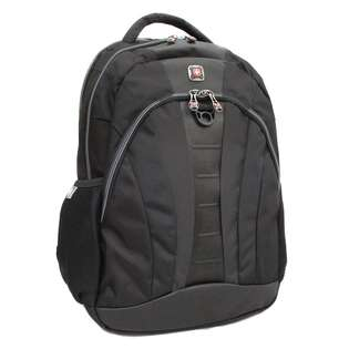 THE MARBLE 16 inch Laptop Computer Backpack   Black