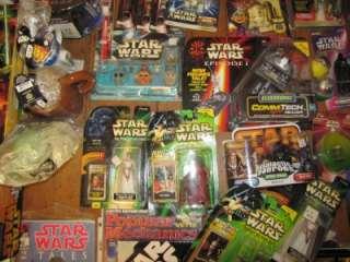 Huge Star Wars Lot Sealed Action Figure Vtg. Stormtrooper Comic Vader