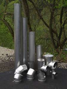 24 Long Stainless Steel Stove Pipe (Liner)