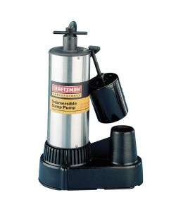 Professional 1/2 hp Stainless Steel Submersible Sump Pump