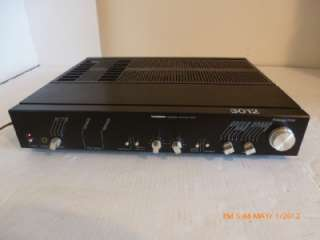 Super Rare Vintage Tandberg 3012 Stereo Integrated Amplifier With