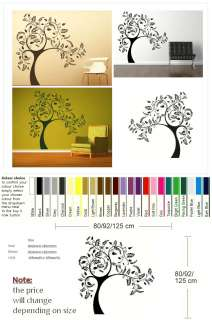 LARGE TREE GIANT Wall sticker huge removable vinyl uk decal stencil