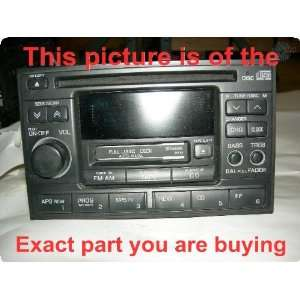 Radio  ALTIMA 98 99 receiver, AM FM stereo cassette CD w