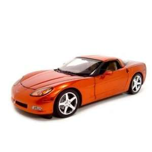 CHEVROLET CORVETTE C6 IN SHOWCASE 118 DIECAST MODEL Toys & Games