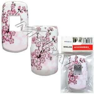 Spring Flower Design Snap On Hard Case for Samsung M220