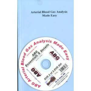 ABG   Arterial Blood Gas Analysis Book with DVD   Details of ABG