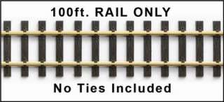 BRASS TRACK G SCALE 100Ft. (RAIL ONLY) CODE 332 Germany