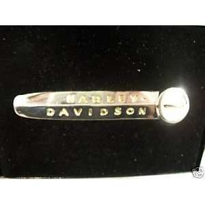 of Harley Davidson Sterling Siver and Gold 1949 Hydra Glide Insignia