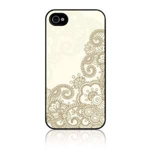 iPhone 4 4S Slim Hard Case Cover   Henna Cell Phones & Accessories