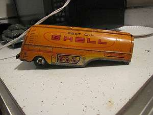 Gasoline   Tanker   Trailer   Tin Toy   Oil   Antique   Vintage