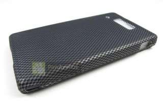 CARBON FIBER Hard Case Cover Motorola Triumph Phone