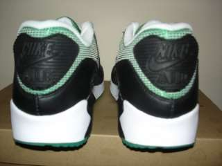 NIKE AIR MAX 90 BLACK GREEN 8.5 NEW LASER INFRARED 95 1