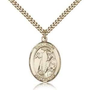 Genuine IceCarats Designer Jewelry Gift Gold Filled St. Elmo Pendant 1
