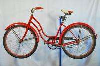 Vintage Schwinn ladies balloon tire bike bicycle skiptooth bendix 1947