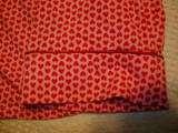 Liz Claiborne Womens Pajamas 2 Piece Set X Large XL Pink Hearts NEW