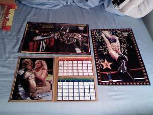 OF 3 WWF MINT POSTERS CHYNA SABLE MARLENA WWE DIVAS WRESTLING