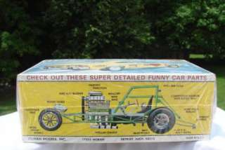 JO HAN HORNET FUNNY CAR AMC MODEL KIT NO. GC 3400 NEW FACTORY SEALED
