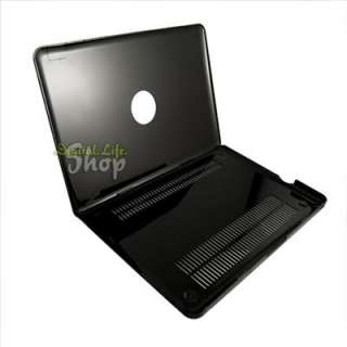 NEW Black Crystal Hard Case Cover for Apple Macbook Pro 13 13.3