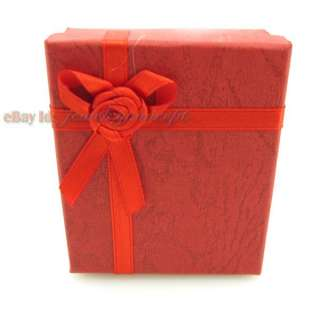10 Red Jewellery Gift Package Box 120204