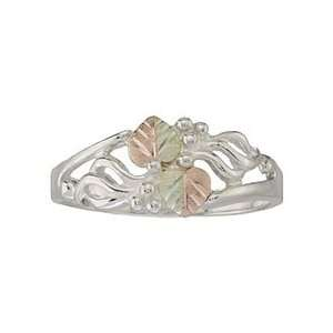 Black Hills Silver Grape Vines Ring from Coleman   Size 6
