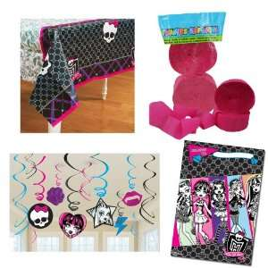 Monster High Party decorations, Party Supplies, Hanging