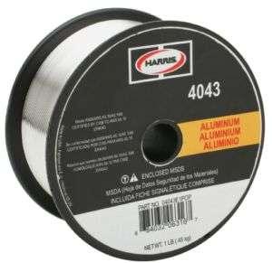 Harris .030 4043 Aluminum MIG Welding Wire 1 lb.