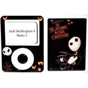 Jack Skellington iPod Nano 3 Skin Cover