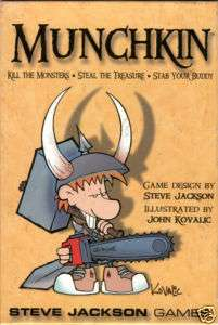 Steve Jackson Games Munchkin Card Game Core Game (New)