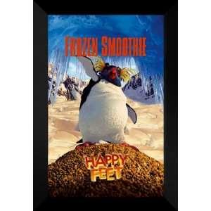 Happy Feet 27x40 FRAMED Movie Poster   Style E   2006