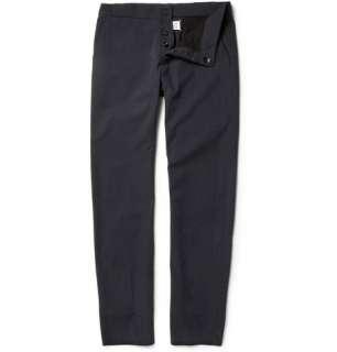 Maison Martin Margiela Anatomic Straight Leg Cotton Twill Trousers