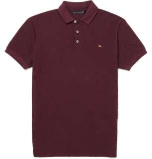 Clothing  Polos  Short sleeve polos  Pique Cotton Polo Shirt