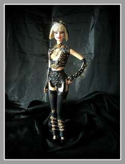 BARBIE OOAK LADY GAGA IN THE EDGE OF GLORY by ElviraDoll