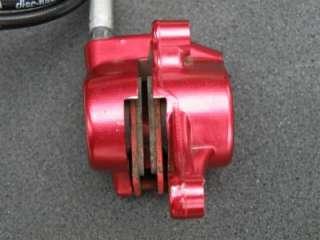 Magura Marta SL Red Complete set 160mm rotors, Tuned w/ carbon caps