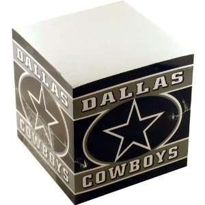 NFL Football Team Logo Paper Note Cube   Dallas Cowboys