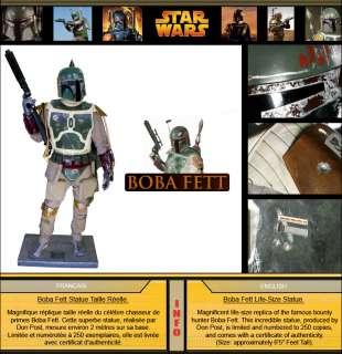 Star Wars Boba Fett Life Size Statue (65)   Don Post