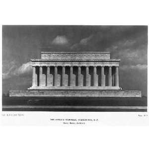 The Lincoln Memorial,Washington,DC,Henry Bacon Home & Kitchen