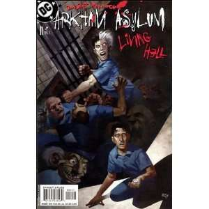 Arkham Asylum #2 Living Hell: Dan Slott & Ryan Sook: Books