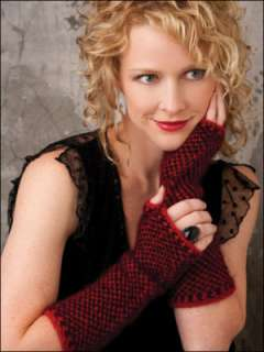 Warm Hands Mittens Knit Knitting Patterns Book How to
