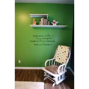 Precious One so small so sweet wall saying quote vinyl decal nursery