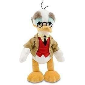 Disney Store PROF VON DRAKE Plush Toy Doll 15 NEW