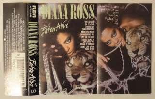 Michael Jackson / Diana Ross   Eaten Alive   MC   USA