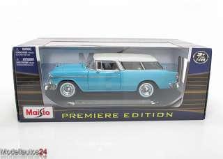 Maisto 118 Chevrolet 1955 Nomad Chevy Bel Air NEU&OVP