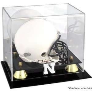 Nebraska Cornhuskers Golden Classic Logo Mini Helmet