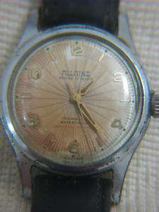 Vintage Swiss ALLAINE 17 jewels mens watch