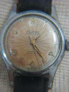 Vintage Swiss ALLAINE 17 jewels mens watch