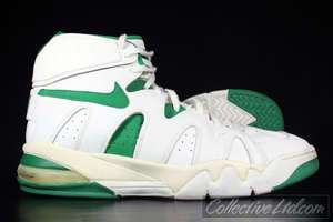 1994 Vtg Nike Air Strong High jordan WHITE GREEN 15.5