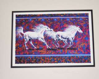 NATIVE AMERICAN INDIAN ART HORSES John Balloue