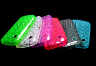 generic 6 colors Gel Skin Case cover for Samsung S5660 Galaxy Gio
