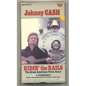 Johnny Cash   Ridin the Rails The Great American Train Story Johnny